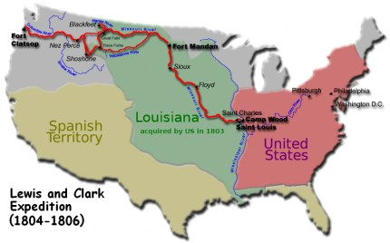 lewis and clark expedition 1804 06
