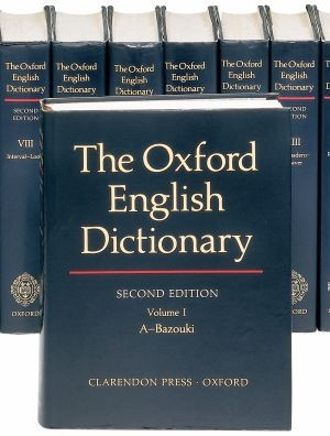 The Second Edition (1989) of the Oxford English Dictionary